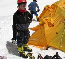 Fiona at camp 1