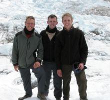 Paul, Tim and Damien at Everest basecamp