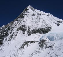 The South Summit on Everest