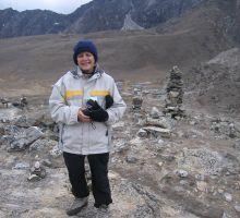 Marg - getting colder as we get closer to Everest basecamp