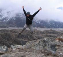 Beck - almost at Everest basecamp!