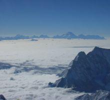More views when climbing Mt Everest