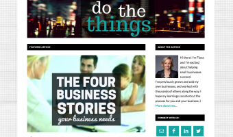 DoTheThings - a blog for startups and small businesses
